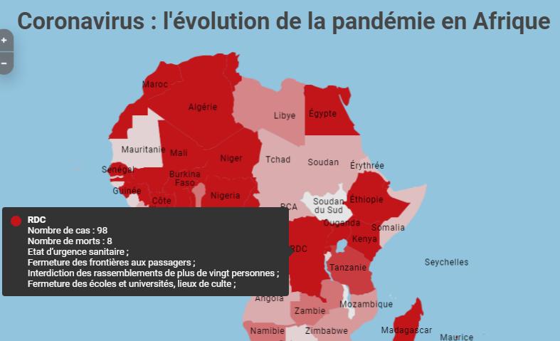Coronavirus en RDC